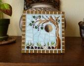 Tiny Wisteria Mosaic