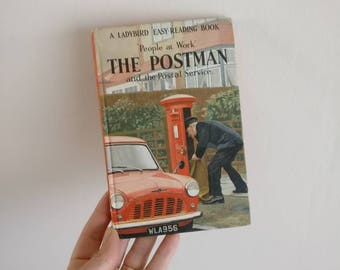 The Postman Notebook handmade from a vintage Ladybird Book