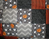 Nightmare Before Christmas Patchwork  Quilt