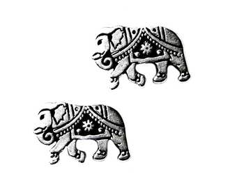 Elephant Cufflinks - Gifts for Men - Anniversary Gift - Handmade - Gift Box Included