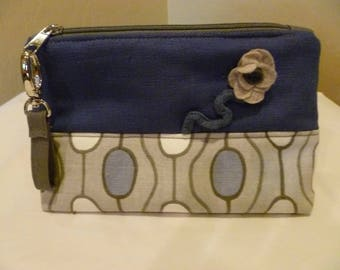 Little Whimsy Periwinkle Pouch