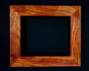 """8x10"""" Handcrafted Exotic Hardwood Frames Photo Frames Art Frames Picture Frames 8x10 Frame 8x10 Wooden Frames"""