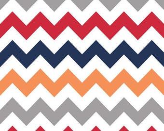 Fabric By The Yard - Boy Chevron - Riley Blake Fabric - Grey Chevron Fabric - Quilters Cotton Fabric - Chevron Fabric - Sewing Supplies
