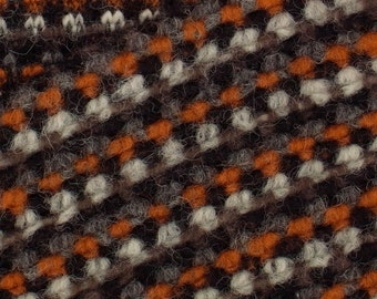 ETHNO PATTERN  wool blend knit