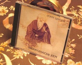 Shakuhachi Zen Music CD By John Singer