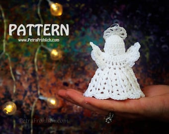 Crochet Pattern - Angel Ornaments (Pattern No. 074) - INSTANT DIGITAL DOWNLOAD