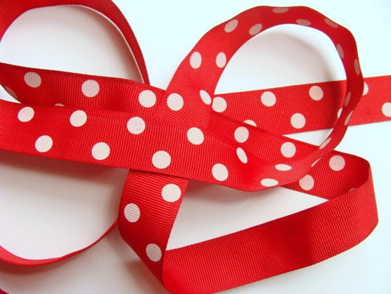 dotted red ribbon and - photo #15