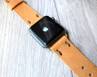 Leather Apple Watch band 38mm leather watch band, Apple watch strap, iwatch band, apple watch leather band