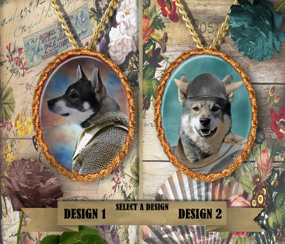 Swedish Elkhound Jewelry Personalized Jamthund Dog Jewelry Elkhound Dog Charm Elkhound Pendant Jamthund Gift Dog Lover Jewelry Nobility Dogs