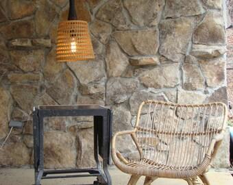 Hanging Bobbin and Basket Light