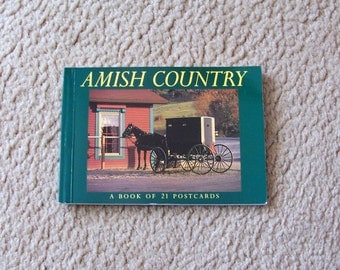Amish Country Postcards - 16 Cards - 1996