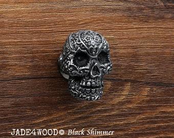 Elegant Ivory Skull Resin Knobs Dresser knobs cabinet Knobs