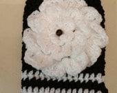 RESERVED   for  PatriciaJulie/  Crochet Flapper Hat