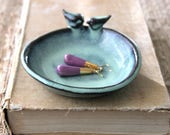 Two 2 Love Bird Dishes - EXPEDITE ORDER - Ship by 5/15