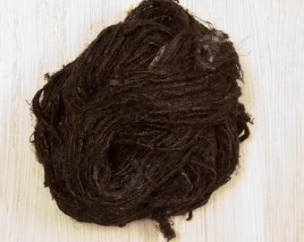 Banana Fiber Yarn Black