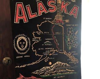 Vintage Alaska Banner