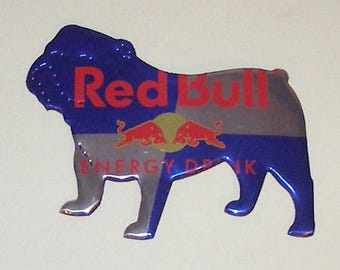 BULLDOG Magnet - Red Bull Energy Drink Can