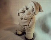 Gnome, Statuary, Paperweight, Hand Cast Stone