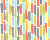 SHOP CLOSING SALE Fat Quarter fabric for quilt or craft Michael Miller Pegs a Plenty Fat Quarter