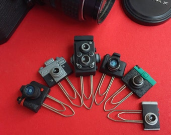 Miniature Camera Paper Clips