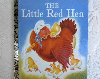 HOLIDAY SALE 20% Off The Little Red Hen~1992 Commemorative Edition Little Golden Book