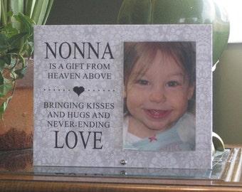 Nonna Frame, SHIPS NEXT DAY, 4 x 6 vertical photo