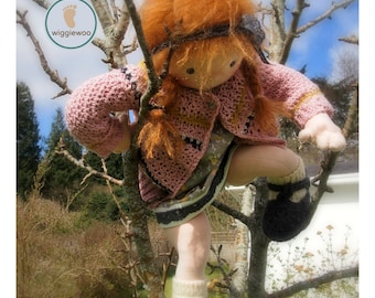 Waldorf  doll, 20 inch doll - custom slot for your own doll