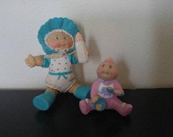 Vintage Cabbage Patch Kids Figures - 1984