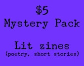 Five-Dollar Mystery Zine Pack--Literary Zines