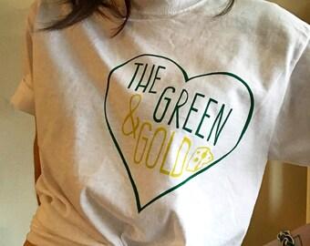 Wisconsin Motto T-shirt UNISEX LARGE - Cheesehead, Green Bay Packers, Beer, Christmas Gift, Stocking Stuffer, Mens Shirts, Women's shirts