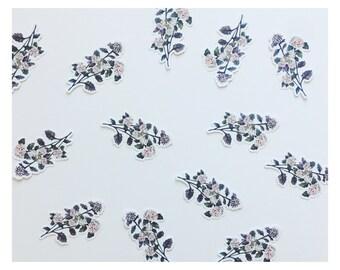 Floral Die-Cut Sticker