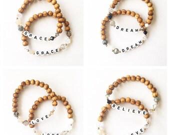 Personalized ~ Serious Sparkle CUSTOM Bracelets