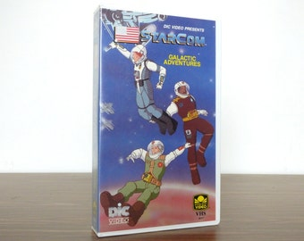 1980s StarCom Cartoon VHS Video Saturday Morning