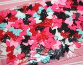 Mixed Bag of 8mm Coloured Bows - Cabochons, Flatbacks, Kawaii, Decoden