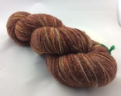 "Galaxy - ""November"" - Hearthside Fibers, fingering weight yarn, ""sparkles""."