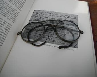 Vintage Wire Rim Wilson Safety Glasses