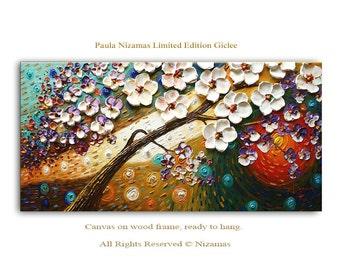 Art on canvas Before Sunset limited edition print home interior Decor Paula Nizamas Ready to hang