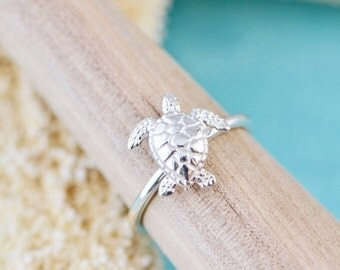 """Shop """"turtle jewelry"""" in Rings"""