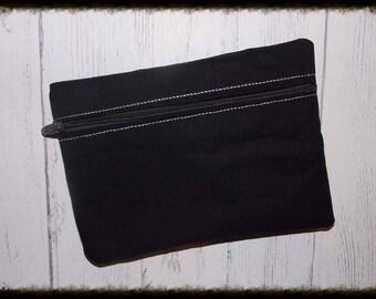 makeup Bag, Easy, Organize, ith Bag, Version 1, Horizontal 5x7 Bag, DIGITAL FILE,  Embroidery,