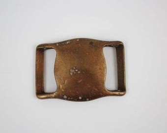 Vintage Copper Slide Belt Buckle