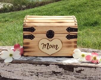 Quick ship Rustic Keepsake box, custom box, baby keepsake, wedding  box, engagement box, memorial box, memory box, toy box, kids toy box,
