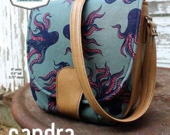 Swoon Sewing Patterns - Sandra Saddle Bag Pattern