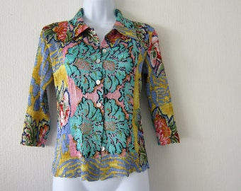 Multi colored Floral Shirt