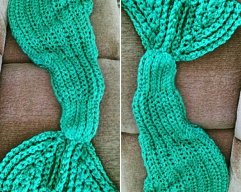 Made to order - ADULT SIZES Mermaid Cocoon Blanket - Fish Tail Leg Sweater- Perfect for Christmas gifts and photoshoots