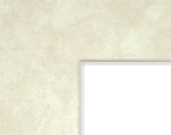 8x10-Inch Mat, 3.5x5-Inch Single Opening Image, Earthen-Cream with Cream Core (B715108103505)