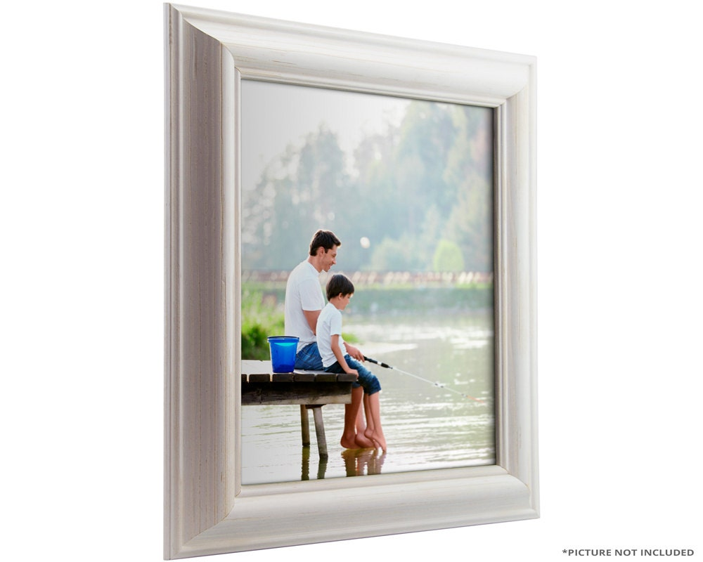 Craig Frames 24x36 Inch White Picture Frame American Classic