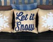 Let it Snow Pillow Set