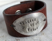 Reading Is My Thing Cuff Bracelet