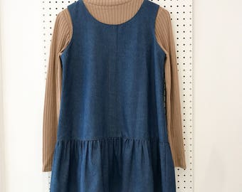 Laura Denim Drop Waist Dress