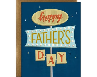 Happy Father's Day Sign Card